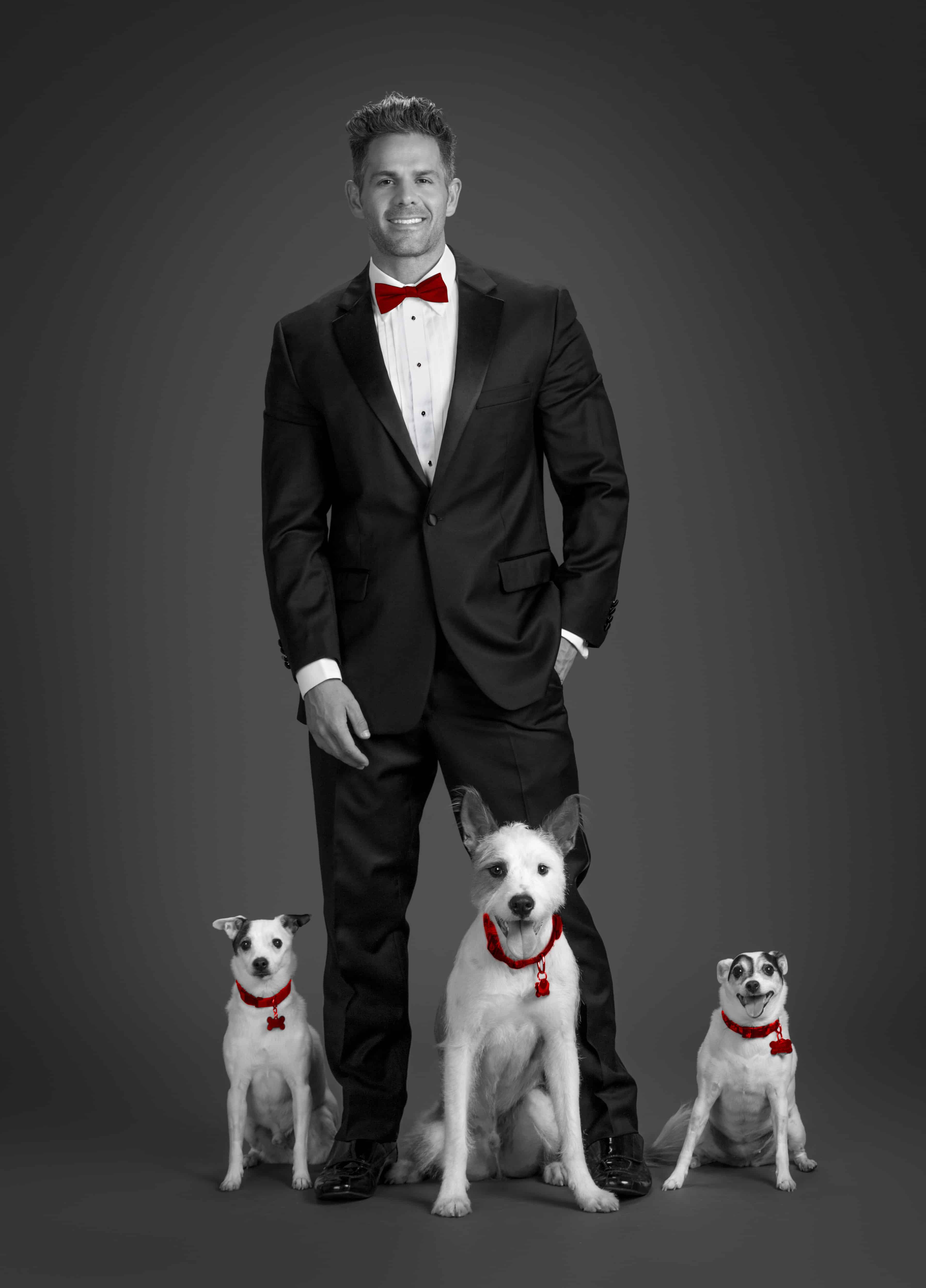 Eric-Turner-photo-with-his-dogs-Houston-photographer-Evin-Thayer-Studios